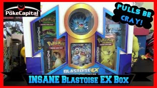 Pokemon Cards Blastoise EX Red & Blue Collection Box Opening - BEST EVER!?