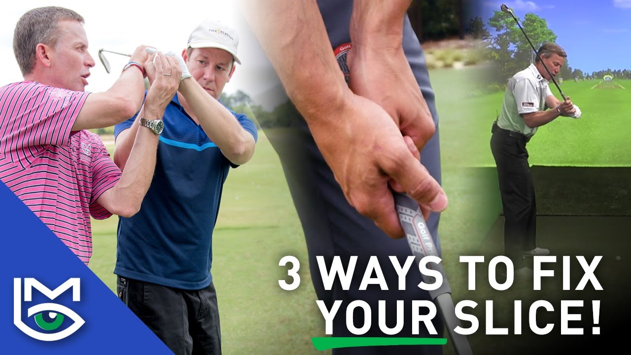 3 Different Ways to STOP Slicing the Golf Ball with Michael Breed