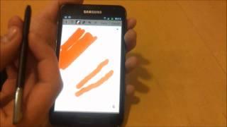 Galaxy Note S-Pen: Pressure Sensitivity, Palm Rejection & Pen Gestures