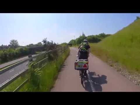 Bristol to Bath Cycle Route & Two Tunnels - Avon Valley Railway Track