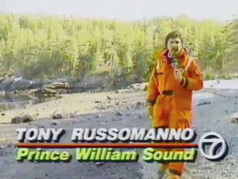 Exxon Valdez oil spill reports, Tony Russomanno, KGO-TV