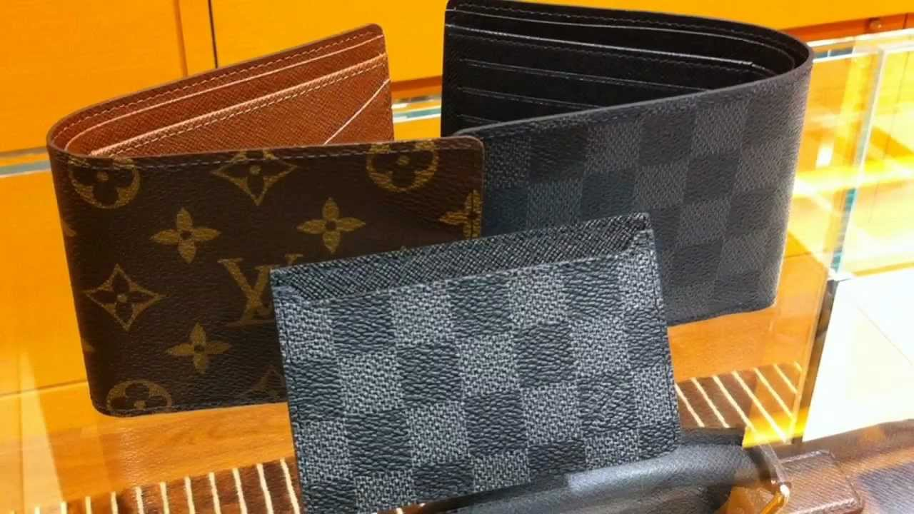 a8b1ca667284 Louis Vuitton Multiple Wallet In Damier Graphite Canvas - YouTube
