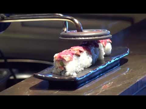 MSC Seaside Sushi Restaurant with Roy Yamaguchi special recipe