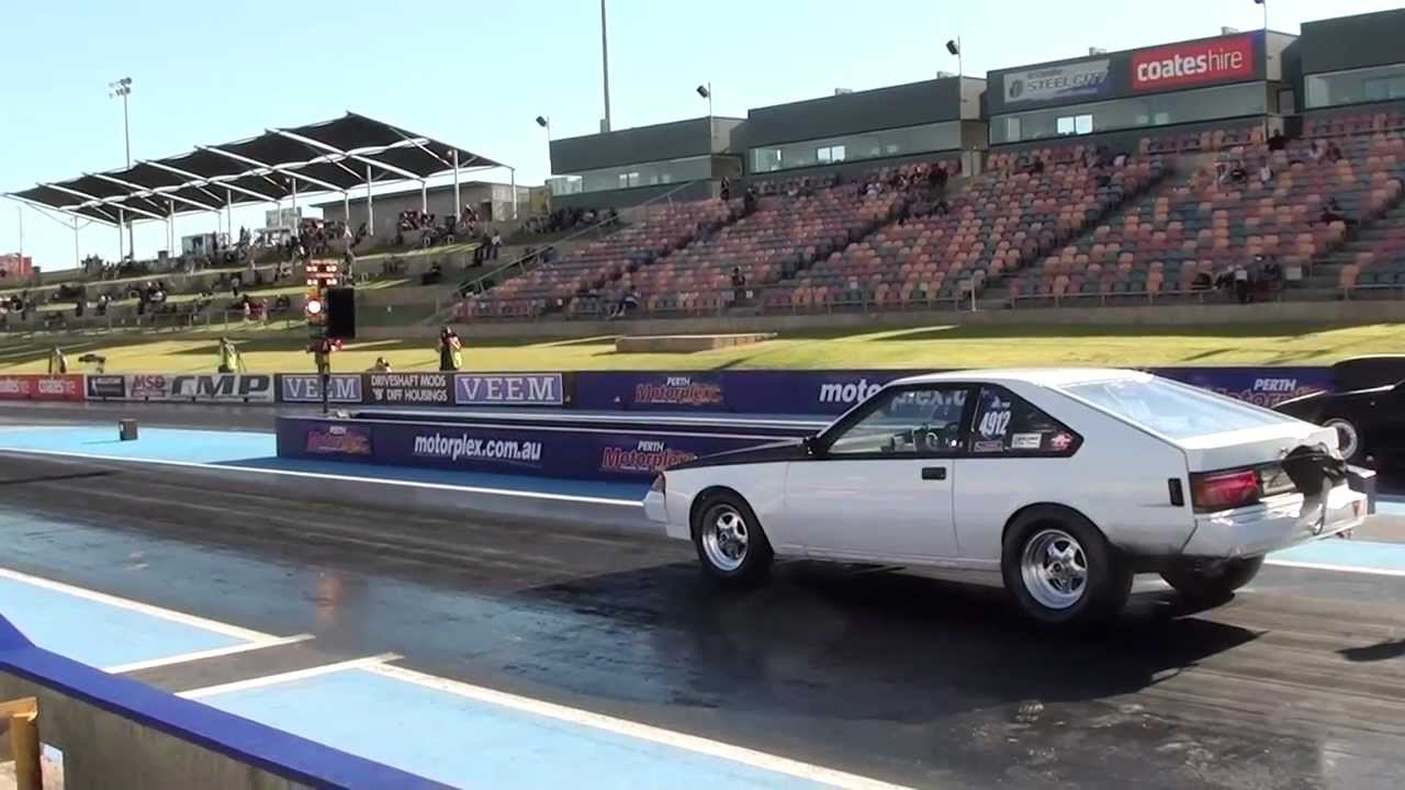 2JZ 1983 celica drag car - YouTube