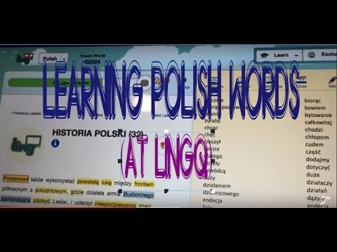 Learning Polish Words (at LingQ)