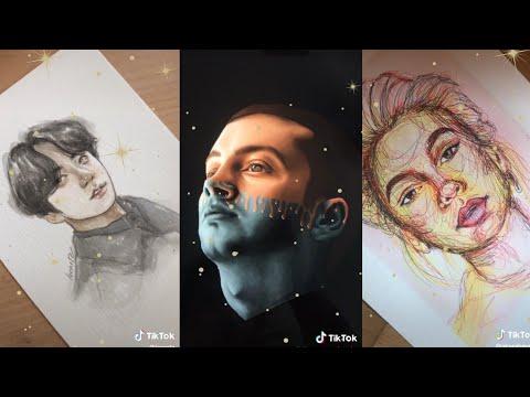 drawing & painting compilation /tiktok/