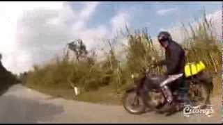 ural motorbike off road north west vietnam