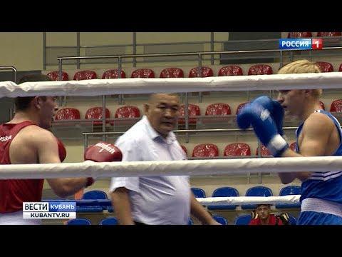 Сборная Краснодарского края по боксу отправится на чемпионат России