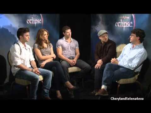 Twilight Saga Podcast (Eclipse) Interview With Kellan Lutz, Ashley Greene, Jackson Rathbone!