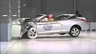 Crash test Toyota Camry Solara Convertible 2007