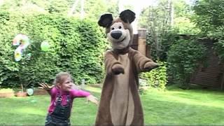 Маша и Медведь на дне рождения у Даши (2 годика)
