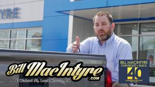 Bill MacIntyre Chevrolet Buick - We're Serious about being Your Car Dealer.