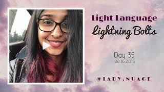 Light Language - Lady Nuage - Lightning Bolt #35