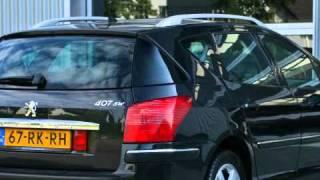 Peugeot 407 1.6 HDI 110PK SW XS PACK TREKHAAK TOP AUTOS