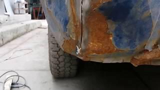 замена заднего крыла ваз 2103-2106 (кузовной ремонт) ваз классика 1973 г