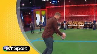 Setting up and defending a drop goal | Rugby Tonight