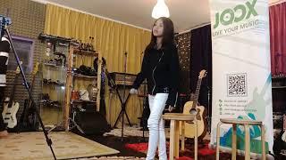 Nurul Iman nyanyi di JOOX