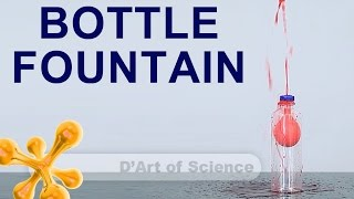 How To Make A Table-top Fountain - Cool Diy Science Experiment - Dartofscience