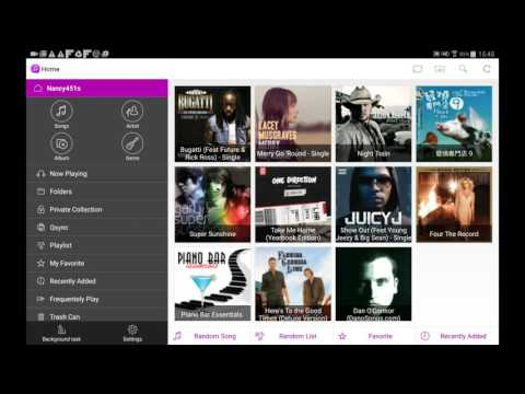 How to use Qmusic to play music (Android app)