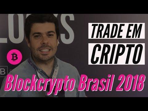 Trade em Cripto - Blockcrypto Brasil 2018