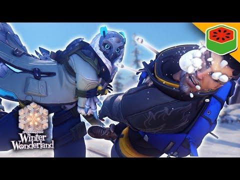 WINTER WONDERLAND 2017! YETI HUNTER AND LOOT! | Overwatch