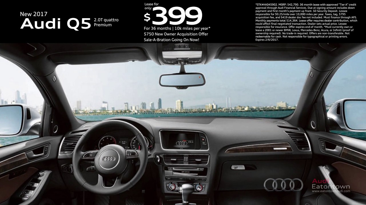 January Audi Q Special YouTube - Audi eatontown