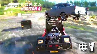 Forza Horizon 4 FAILS, WINS & Funny Moments #1