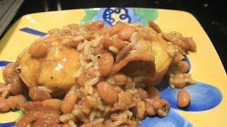 Red Hot Cajun Style Spicy Beans And Rice Recipe Pinto Beans