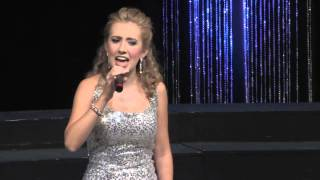 Megan Angeline Mandolfo - Miss Tehama County singing God Bless the USA
