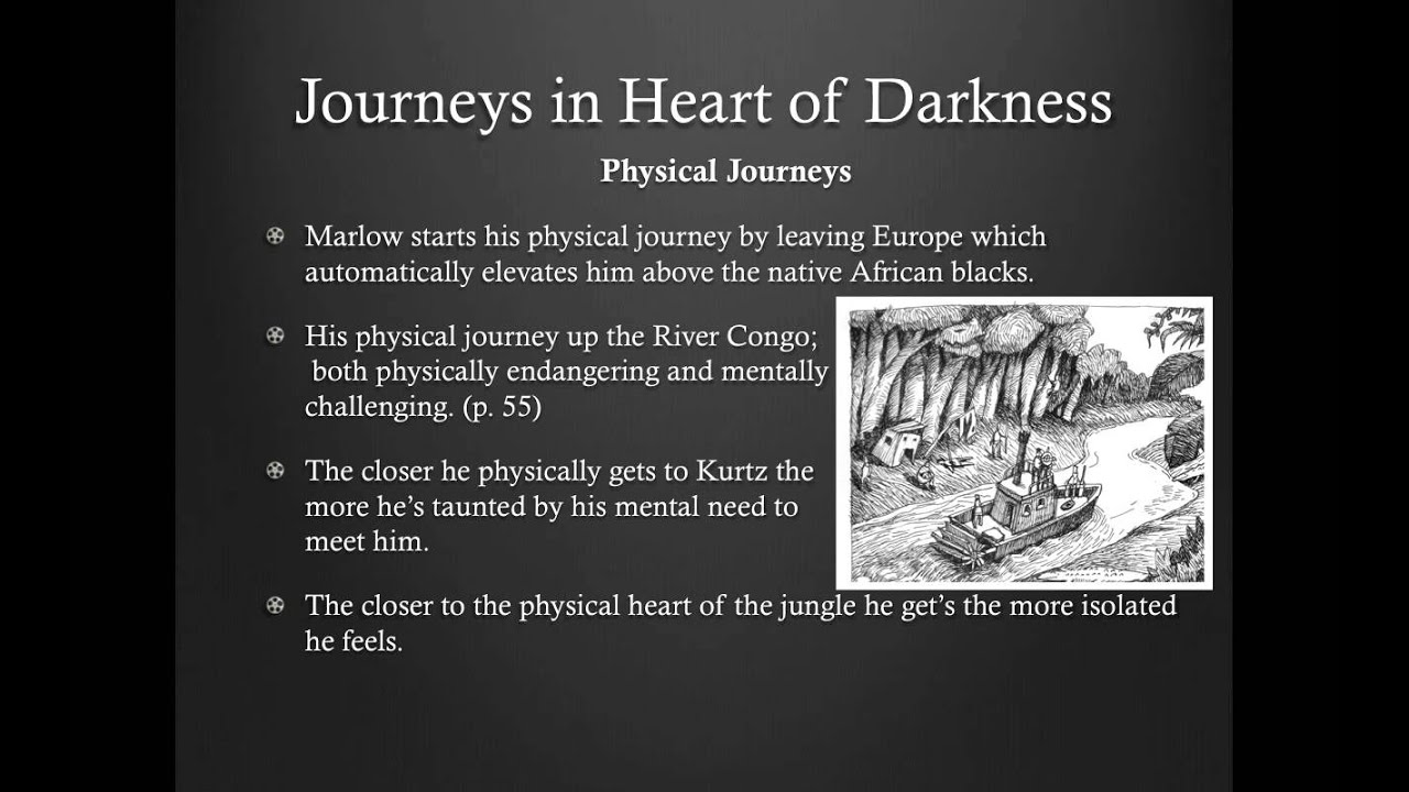 a heroes journey in joseph conrads heart of darkness 4 quoted in eloise knapp hay, the political novels of joseph conrad (chicago:  university of chicago  as a result of his journey into the heart of darkness,  what is the con teaching  thames is a symbol of heroic deeds of england's  past.
