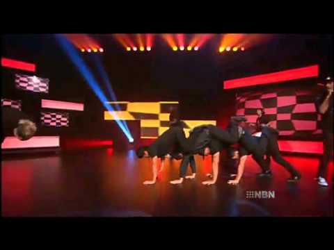 Justice Crew on Australia's Funniest Home Videos
