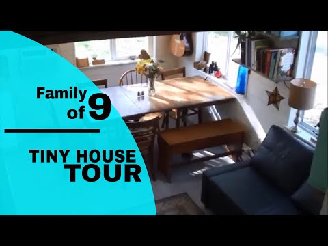 BIG FAMILY... tiny house TOUR !