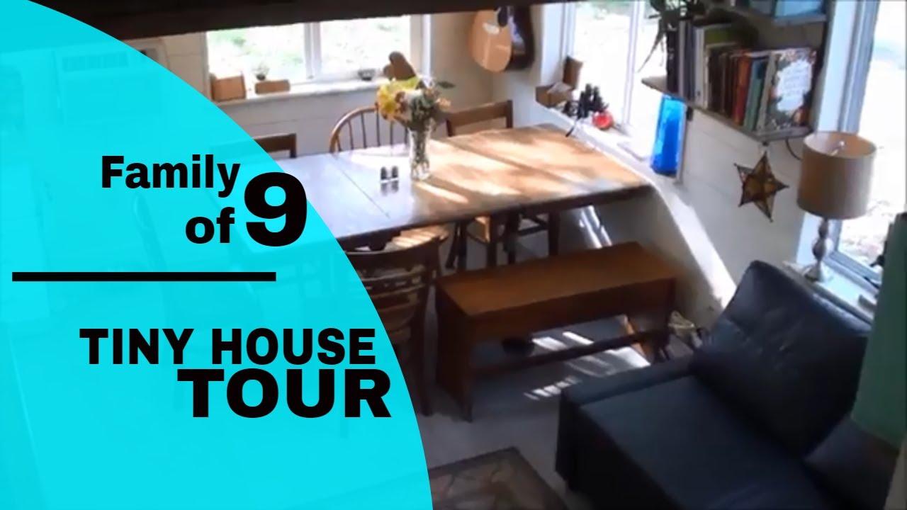 Big Family Tiny House Tour Youtube