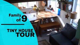 BIG FAMILY... tiny house TOUR !