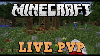 Minecraft Xbox 360 Hunger Games / PVP With Subscribers (LIVE)