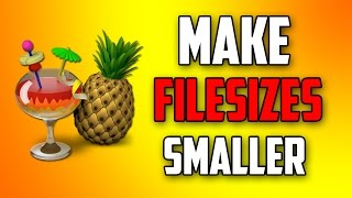 How to Make Video File Size Smaller and Keep Quality with Handbrake!