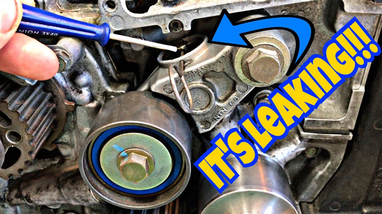 medium resolution of subaru diy bent valves are bad is your timing belt tensioner or pulley about to fail