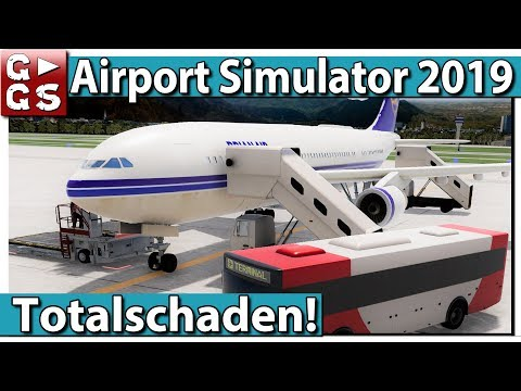 AIRPORT SIMULATOR 2019 ► FLUGHAFEN Management Simulation PREVIEW #2