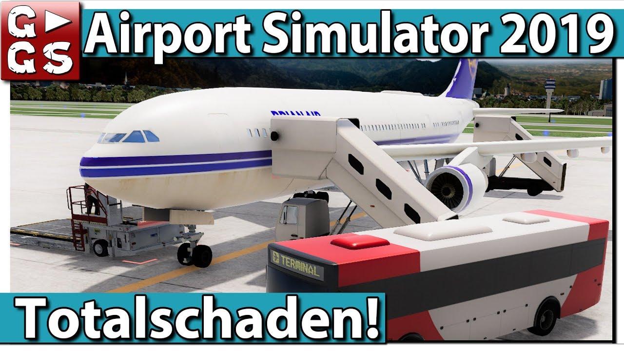 AIRPORT SIMULATOR 2019 ▻ FLUGHAFEN Management Simulation PREVIEW #2 ...