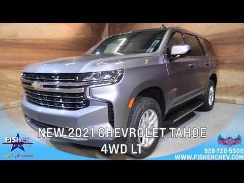 NEW 2021 CHEVROLET TAHOE 4WD LT | 𝙁𝙞𝙨𝙝𝙚𝙧 𝘾𝙝𝙚𝙫𝙧𝙤𝙡𝙚𝙩 𝘽𝙪𝙞𝙘𝙠 𝙂𝙈𝘾 | 𝘠𝘶𝘮𝘢, 𝘈𝘡 - C164585