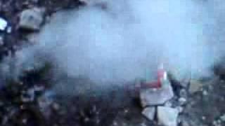 Świeca dymna  dobra Goku & Cień