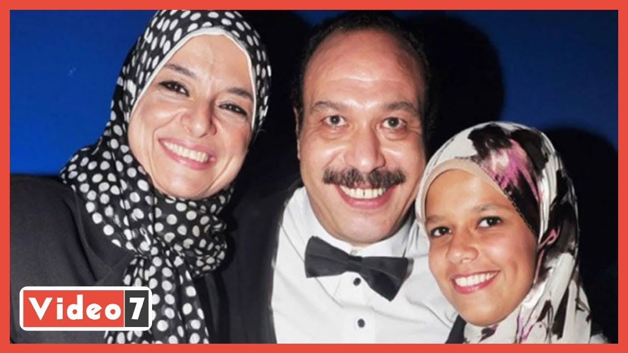 توفت اليوم بفيروس كورونا..ذكريات جمعت بين الفنان الراحل خالد صالح وزوجته  - 15:58-2021 / 4 / 17