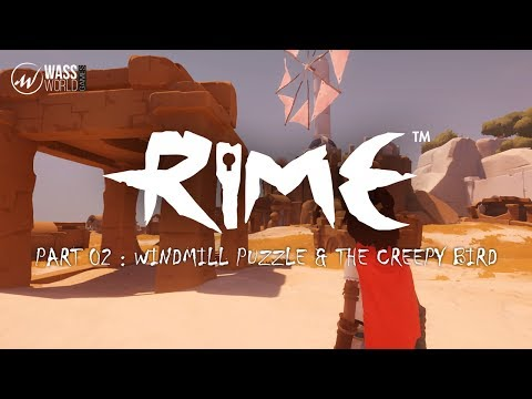 Rime - part 02 ( Windmill Puzzle & The Creepy Bird )