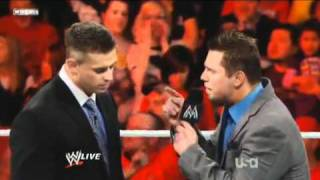 WWE RAW 5/23/11 Alex Riley attacks The Miz (Alex Riley turn Face)