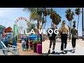 Santa Monica Pier & Venice Beach | LA Vlog