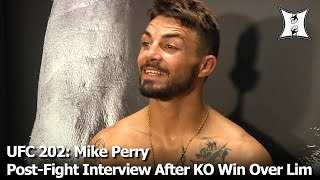 UFC 202: After KO Win In UFC Debut, Mike Perry Talks Fingernail Mishap, Calls Out Several Fighters
