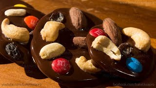 Easy Chocolate Trail Mix Medallions Recipe