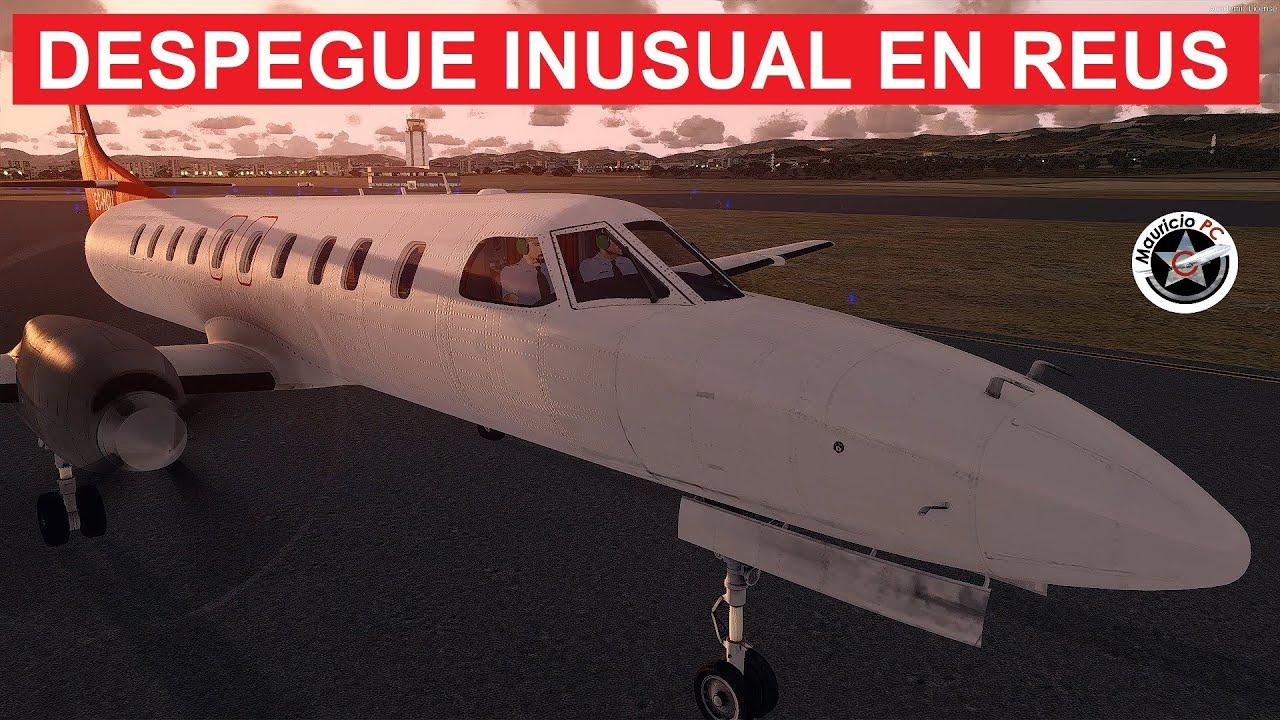 Despegue fallido en Cataluña - Metroliner EC-HCU de Medit Air