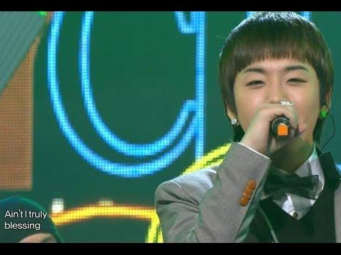 【TVPP】Taeil(Block B) - Family Man (with Cho PD), 태일(블락비) - 패밀리 맨 (조피디) @ Show! Music Core Live