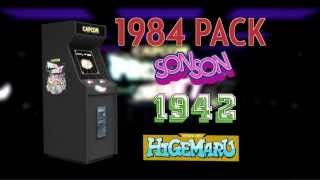 Capcom Arcade Cabinet 1984 Pack trailer - 1942, SonSon and Pirate Ship Higemaru